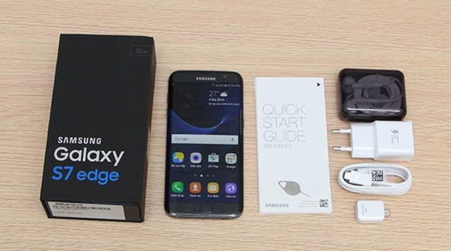 SAMSUNG GALAXY S7 EDGE QUỐC TẾ G9350– 2 SIM  NEW FULLBOX (MƠI 100%)