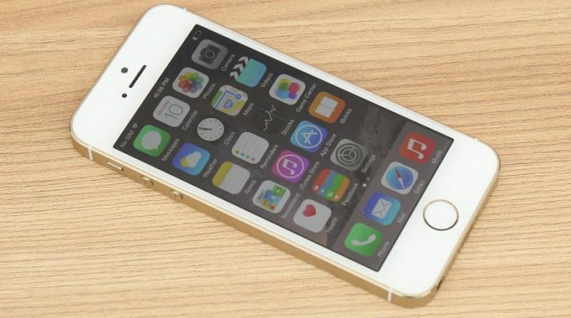 ĐIỆN THOẠI IPHONE 5S 16GB QUỐC TẾ ( MỚI 99% )