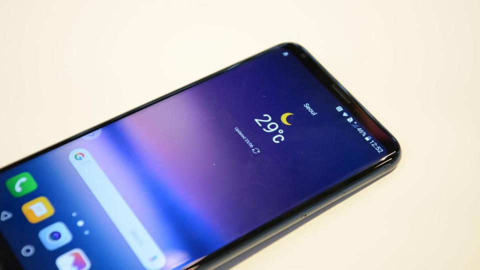 LG G7 2 SIM đẳng cấp công nghệ smartphone quốc tế