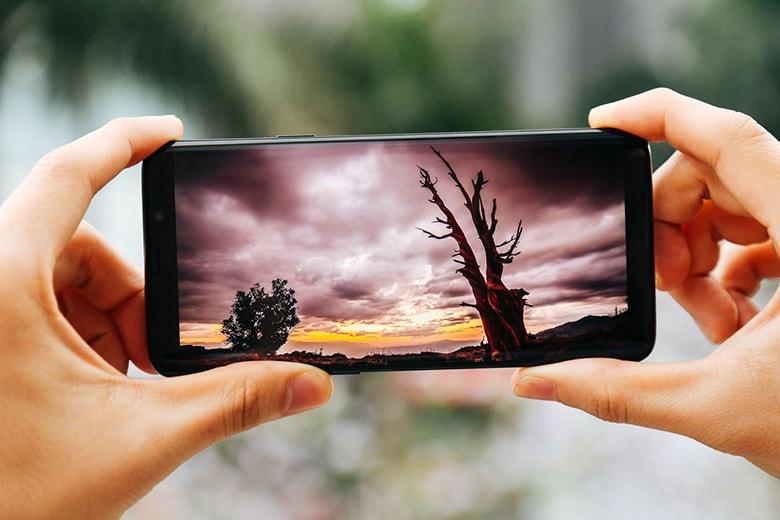 Chất lượng hình ảnh thực tế của S9 Plus 2 sim mới 99%