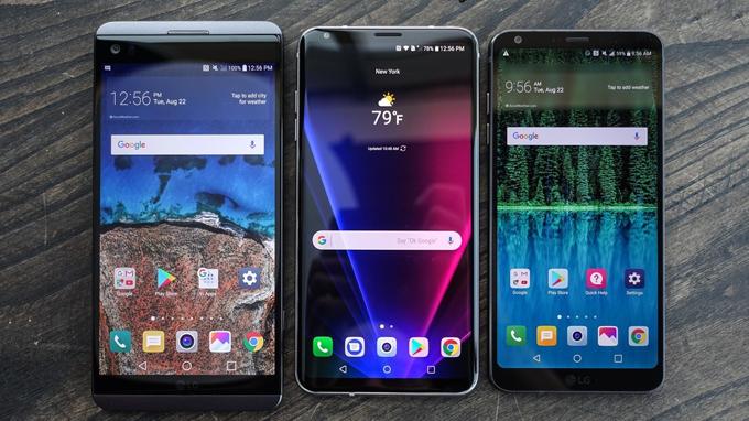 Với thiết kế đẹp chắc chắn LG V30 xách tay sẽ là chiếc điện thoại được ưa chuộng trong thời gan sắp tới