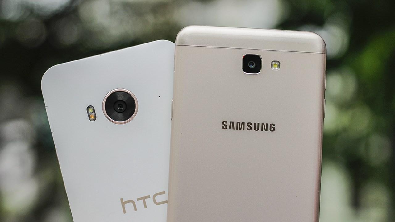 Nên mua điện thoại Samsung hay điện thoại htc 1