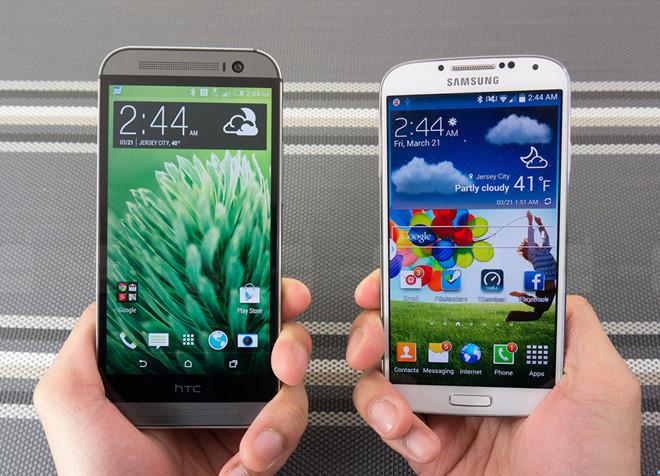 Nên mua điện thoại Samsung hay điện thoại htc 6