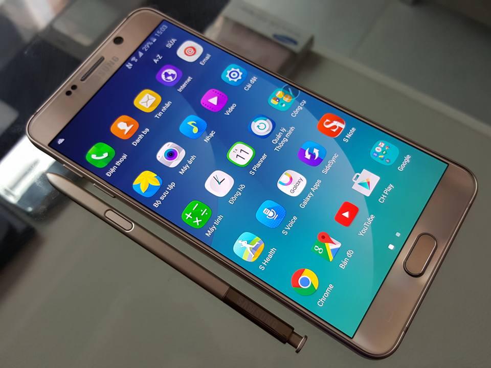 Samsung Galaxy Note 5 2 Sim N9208 - Sản phẩm mới từ công nghệ 3