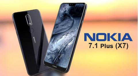 Thiết kế ngoại hình của điện thoại Nokia x7 giá rẻ