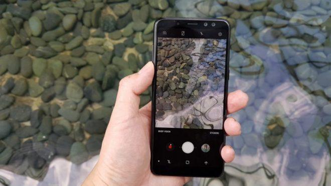 Hình ảnh thực tế của phiên bản Samsung Galaxy A8