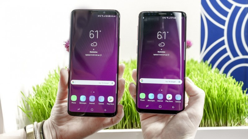 Samsung galaxy S9 plus 2 sim 128gb fullbox