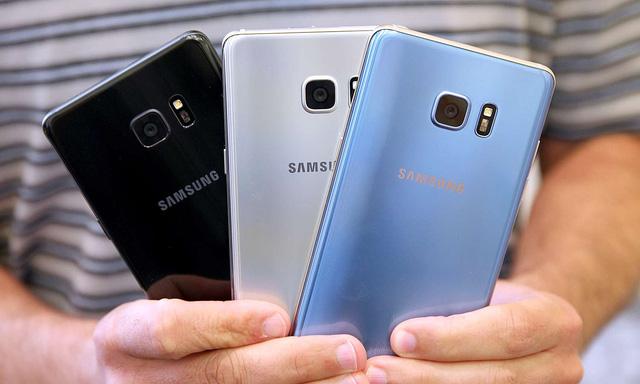 Chế độ bảo mật trên điện thoại Samsung Galaxy note fe khá tốt