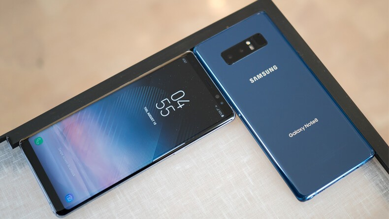 SAMSUNG GALAXY NOTE 8 2(DUAL) SIM 128GB (MỚI 100%)