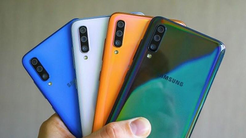 giá bán điện thoại Samsung Galaxy A70 2