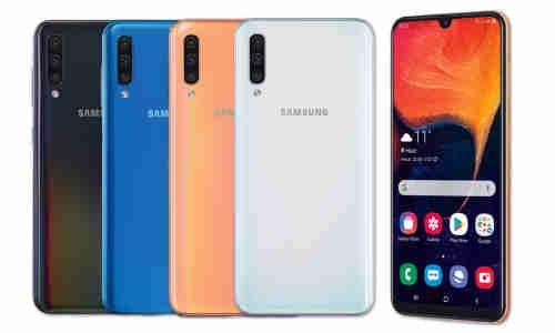 Giá bán điện thoại Samsung Galaxy A50