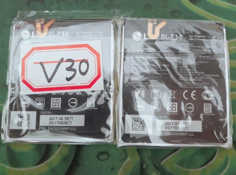 Pin lg v30