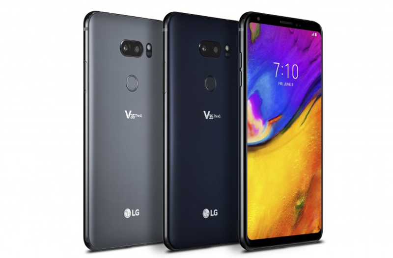Thiết kế ngoại hình của  điện thoại LG V35 Thinq cũ