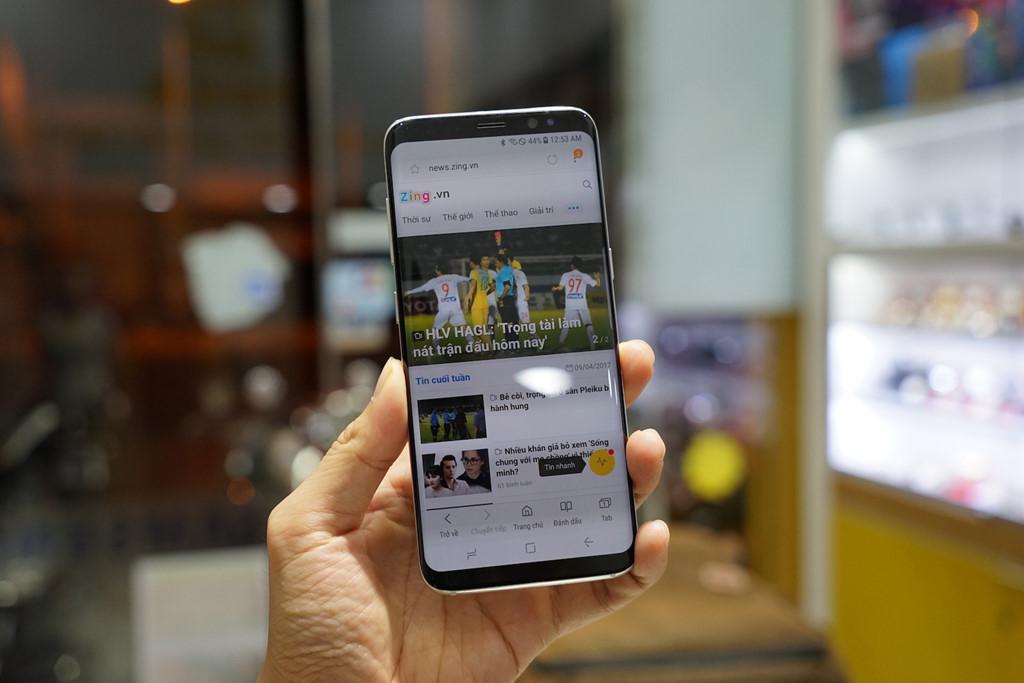 Samsung Galaxy S8 Plus 2 (Dual) Sim hỗ trợ xử lý các tác vụ nhanh chóng