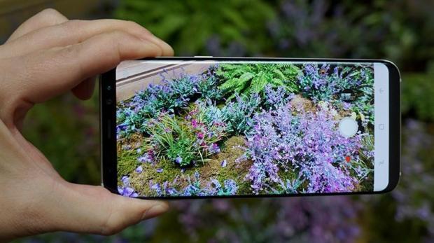 Chất lượng hình ảnh trên Samsung Galaxy S8 Plus xách tay Hàn Quốc