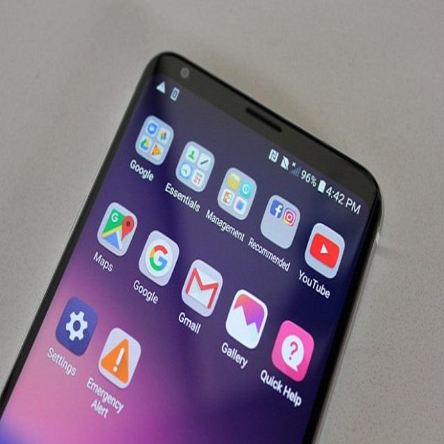 điện thoại LG V40 mỹ đen mới 99% 2