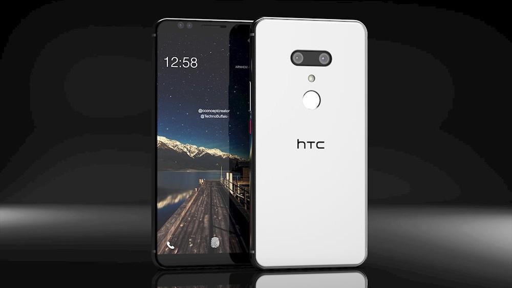 Điện thoại htc u12 plus 2 sim có thiết kế cực kỳ bắt mắt