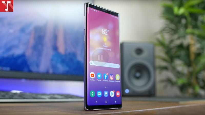 Samsung Note 9 Quốc Tế 2 Sim Mới Không Hộp 128gb (Chíp Snapdargon)