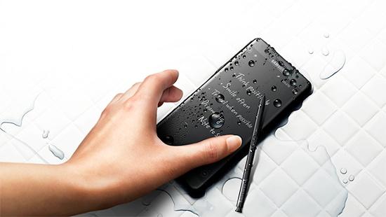 Samsung Galaxy Note 5 có chống nước không  5