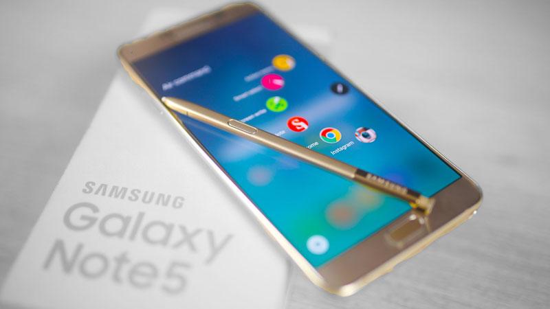 Samsung galaxy note 5 có chống nước không? 1