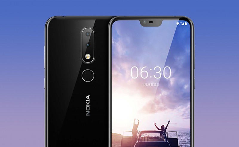 Điện thoại Nokia X6 (2018) Ram 4Gb 32Gb (Rom Tiếng Việt)