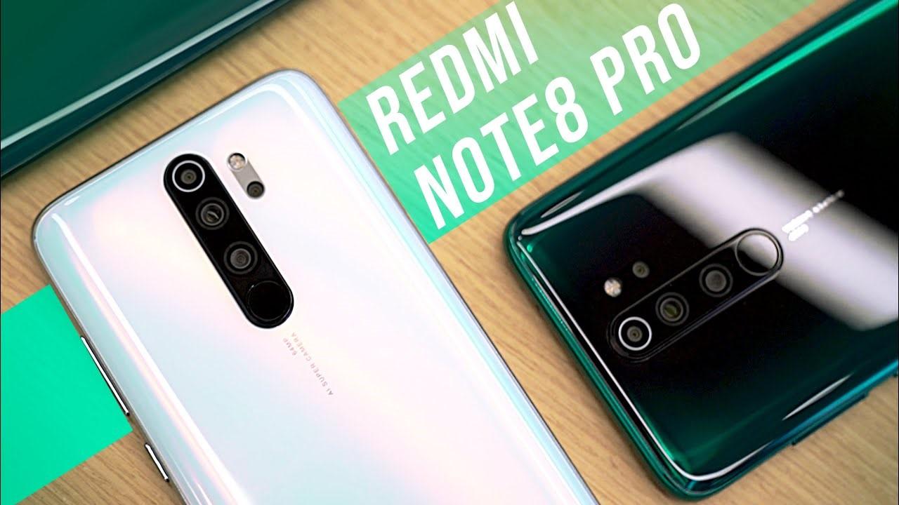 Thiết kế ngoại hình phiên bản điện thoại Redmi Note 8 pro Ram 6g giá rẻ