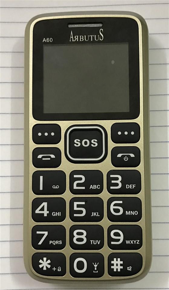Điện thoại cho người già giá rẻ Arbutus A60