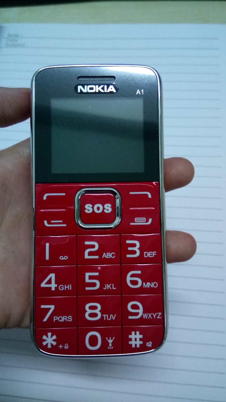 Điện thoại cho người già giá rẻ Nokia A1