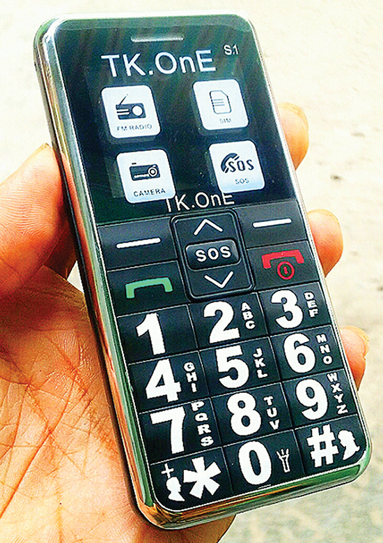 Điện thoại cho người già giá rẻ Tk-one S1