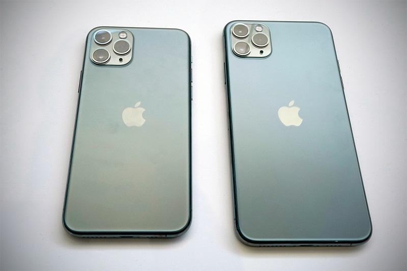 So sánh iphone 11 pro khác pro max