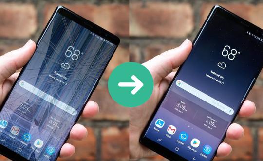 Giá màn hình Samsung Note 9 có đắt không 1