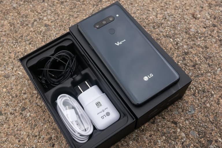LG V40 thinQ 2 sim Fullbox