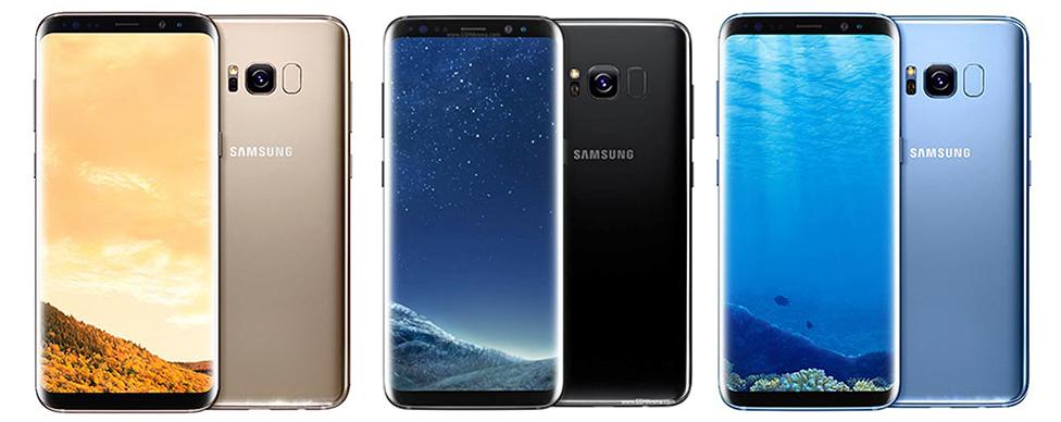 Điện thoạisamsung galaxy s8 plus quốc tế