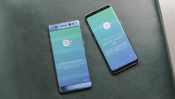 Samsung galaxy note 8 xách tay sở hữu cấu hình mạnh mẽ hơn hàng chính hãng