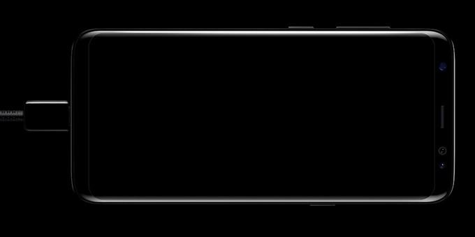 Samsung galaxy s8 plus Hàn Quốc được trang bị công nghệ sạc nhanh, sạc không dây