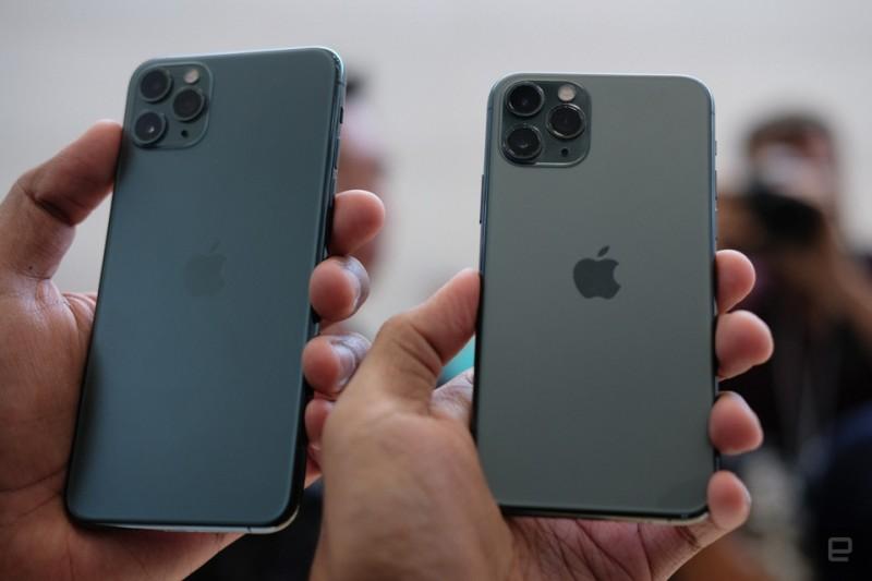 Phiên bản điện thoại iPhone 11 Pro max màu xanh thinhmobile