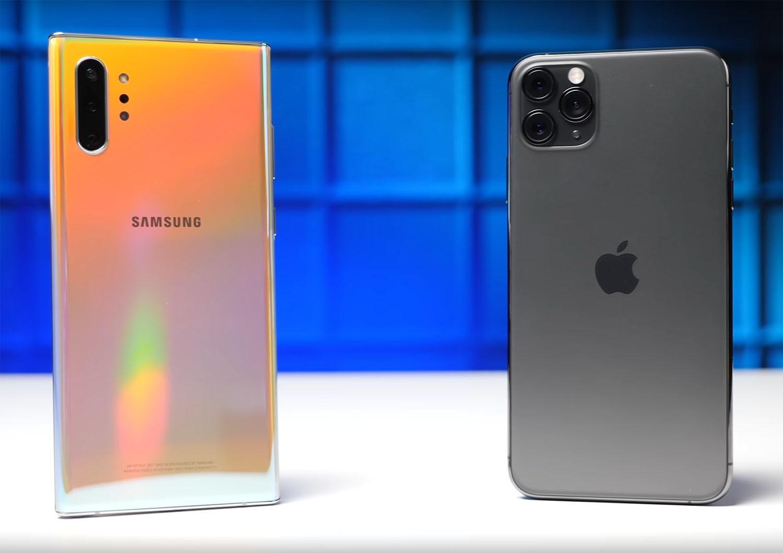 Cả samsung note 10 plus vs iphone 11 pro đều có hiệu năng mạnh m