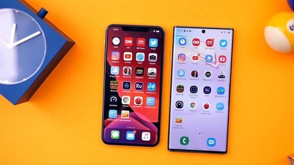 So sánh hình ảnh samsung note 10 plus và iphone xs max