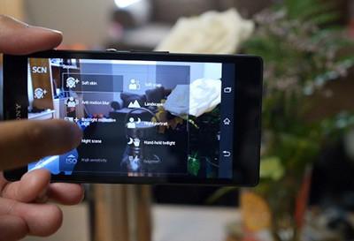 Camera vô cùng sắc nét của Xperia Z5 cũ