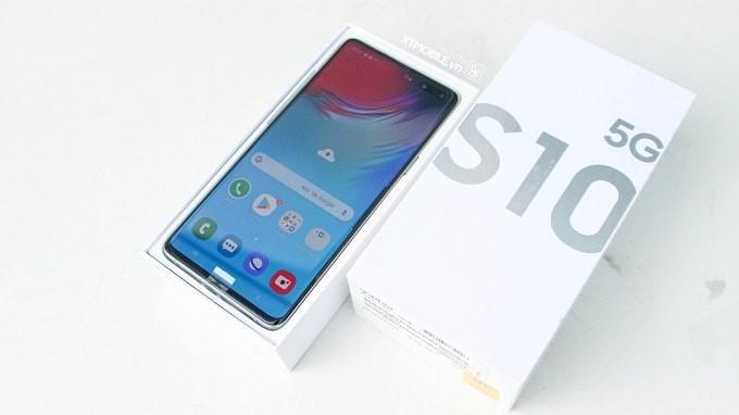 Samsung s10 hàn 5G 512gb mới không hộp(Tặng Đầy đủ phụ kiện zin chính hãng )