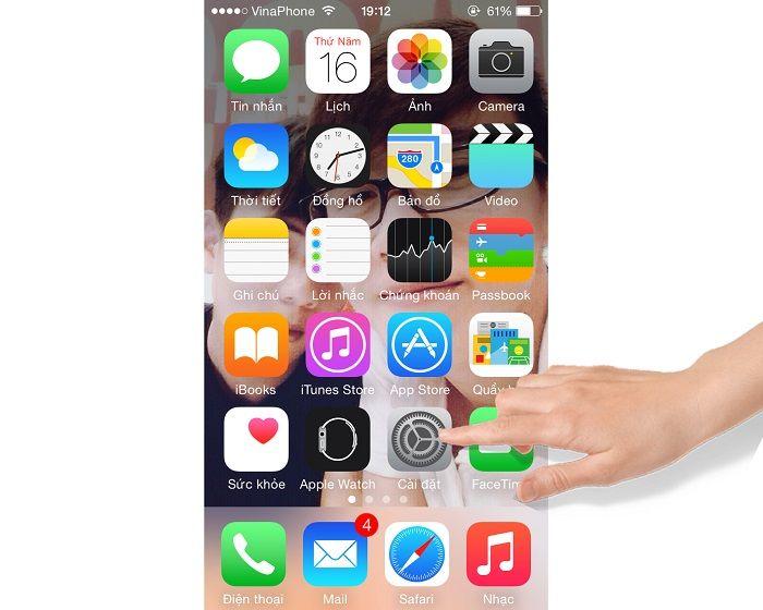 Hướng dẫn cách xử lý đơ màn hình cảm ứng với dòng IOS 2